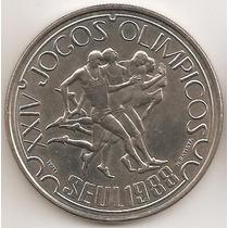 Portugal, 250 Escudos, 1988. Olimpiadas Seul. Xf+ / Aunc