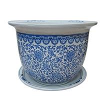 Cachepot Soho Grande Em Cerâmica