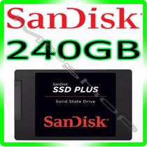 Hd Ssd 240gb Sandisk Plus - 520mb/s Sata 3 *** Original ***