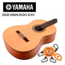 Violão Yamaha Nylon C 40 C40 Ii N.fiscal Loja Autorizada