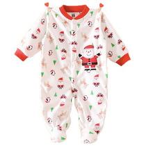 Pijama Bebe Enterito Polar 12 Meses Nuevo Navidad Pascuero