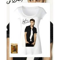 Remeras Femeninas Justin Bieber Elegi El Diseño ! Envios !