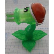 Figura Zombie Vs Plantas !!! Plastico 6 Cm Planta Carnivora