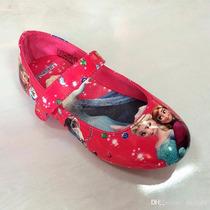 Hermosos Zapatos Serie Frozen Importados