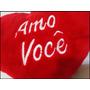 Almofada Coração Abraço Eu Te Amo 70 Cm Pelucia P/ Namorados