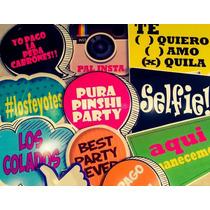 10 Letreros Para Boda, Souvenirs, Artículos Para Fiestas.