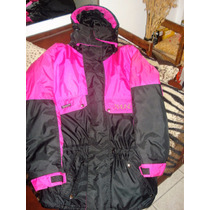 Excte Campera Parka Thinsulated L Técnica Nieve Sky Snow