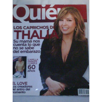 Thalia Revista Quien :portada Agosto 2007