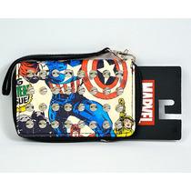 Capitan America Marvel Cartera Dama Importada 100% Original
