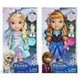 Muñecas Rapunzel, Elsa Y Ana De Frozen 30 Cm Musicales