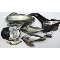 Kit Fan 160 Carenagens + Farol Original Honda