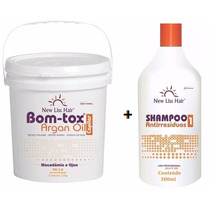 Bottox Capilar 3,5kg S/formol + Shampoo 300ml New Liss