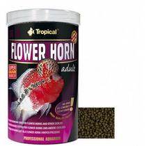 Tropical Flower Horn Adult 380g - Ração Peixes, Pote Lacrado