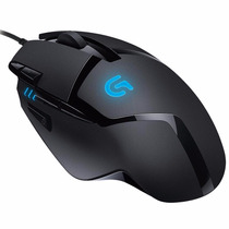 Mouse Gamer Logitech G402 + Mouse Pad G640 Combo