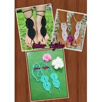 Sandalia Descalza Para Damas