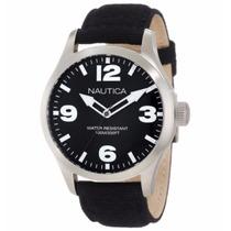 Reloj Nautica Negro Estilo Militar