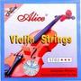 Juego De Cuerdas Alice Para Violin A 703