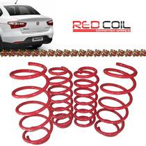 Mola Esportiva Red Coil Fiat Grand Siena 2013 2014 2015 2016
