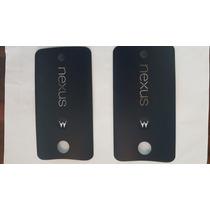 Tapa De Bateria Motorola Nexus 6 Original Negra