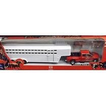 Nueva Ray Dodge Ram 3500 Camión Quinta Rueda Con El Caballo