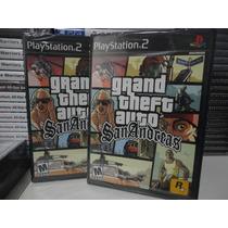 Grand Theft Auto Gta San Andreas - Original - Lacrado - Ps2