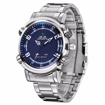Relógio Masculino Pulso Weide Led Digital Analóg Wh-1101-1