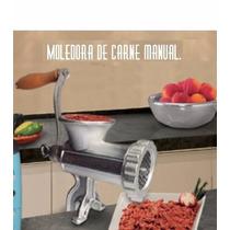 Molino De Carne Manual Del #22 Envío Gratis