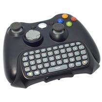 Teclado Xbox 360 Messenger Sem Fio Para Controle Chatpad