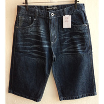 Bermuda Jeans Masculina Nova Ultimas Peças Promoção