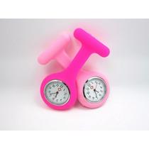 Relógio Para Jaleco - Pink - Enfermagem / Medicina
