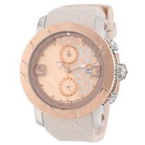 Reloj Mulco Lush Tiger Acero Silicón Beige Mujer Mw52496113