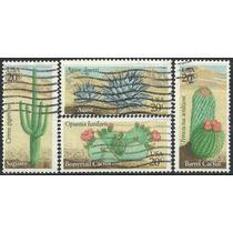 1981 Estados Unidos Plantas Desérticas Cactus 4 Sellos Usado