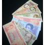 Combo De Billetes Antiguos Circulados 5000 Uncbs 13 .143
