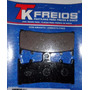 Kit Completo Pastilha De Freio Kawasaki Zx6r 600 Ninja 98-01