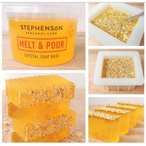 Jabón Melt & Pour Crystal Miel Stephenson 1kg