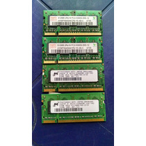 Memoria Para Laptop Sodimm 512 Mb Pc2-5300 Usadas