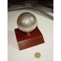 Trofeo De Basket Ball Hecho A Mano
