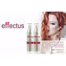Shampoo E Mascara Effectus 500ml - Pos Coloração Nutra Hair