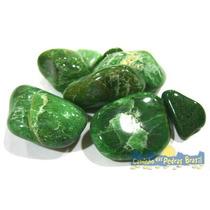 Jade Verde Unid. 2cm Pedra Gema Natural Polida P/ Coleção