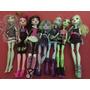 Lote 7 Muñecas Monster High + Set 8 Mascotas + Libro