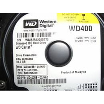 Disco Duro 40 Gb Ide Western Digital Wd Caviar