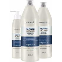 Progressiva Monoi De Tahiti Nutra Hair Liso 100% Garantido