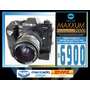 Minolta Maxxum 9000-motor Md90-bateria Mb90-lente 28-85