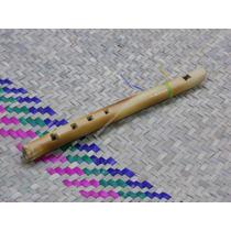 Flauta De Madera, Juguetes Tipicos Mexicanos