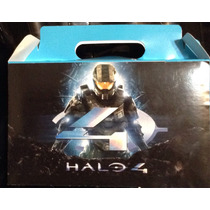 Halo 25 Cajas Para Dulces O Lonch Personalizado Gratis