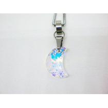Dije Mujer Luna Boreal - Cristales Swarovski. Nueva!!