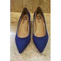 Sapato Carmen Steffens Scarpin Couro Confort Otimo Preço