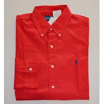 Camisa Social Polo Ralph Lauren Gg Xl Nova Algodão Promoção