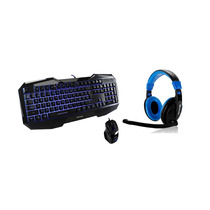 Kit Gamer Teclado Mouse Y Diadema Con Microfono