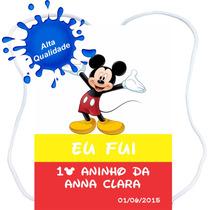 40 Mochilinhas Sacolinhas Personalizadas Mickey Minnie